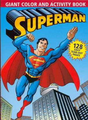 superman giant color and activity book 2006 - Superman Coloring Book