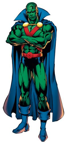 The Superman Super Site - Martian Manhunter