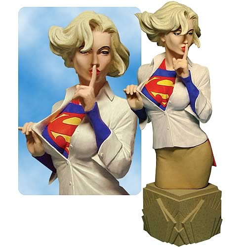 Michael Turner Supergirl Statue