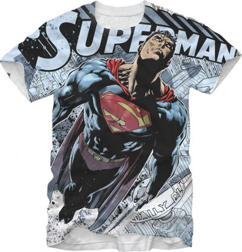 The superman super site september 8 2014 new superman for Man of steel t shirt online